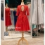 รหัส ชุดราตรีสั้น : BB067 ชุดแซก ชุดราตรี มีแขน สีแดง เหมาะใส่งานแต่งงาน สวย สง่า ดูดีแบบเจ้าหญิง ใส่เป็นชุดงานเช้า ชุดไปงานแต่งงาน งานกาล่าดินเนอร์ งานเลี้ยง งานพรอม งานรับกระบี่ thumbnail 2