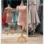 รหัส ชุดราตรีสั้น :PF140 ชุดราตรีสั้นผ้าซาติน เดรสออกงานไหลเฉียง ชุดไปงานแต่งงานสีชมพูกลีบบัว ชุดแซกงานสวยมาก แบบประดับโบว์เพิ่มความน่ารัก thumbnail 1