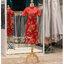 รหัส ชุดกี่เพ้า :KPS082 ชุดกี่เพ้าพร้อมส่ง มีชุดกี่เพ้าคนอ้วน แบบสั้น สีแดง คัตติ้งเป๊ะมาก ใส่ออกงาน ไปงานแต่งงาน ใส่เป็นชุดพิธีกร ชุดเพื่อนเจ้าสาว ชุดถ่ายพรีเวดดิ้ง ชุดยกน้ำชา หรือ ใส่ ชุดกี่เพ้าแต่งงาน สวยมากๆ ค่ะ thumbnail 2