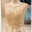 รหัส ชุดราตรี : PFS039 ชุดแซกผ้าลูกไม้งานสวยตกแต่งกริตเตอร์ ชุดราตรีสั้นหรูสีทอง สวย สง่า ดูดีแบบเจ้าหญิง ใส่เป็นชุดไปงานแต่งงาน งานกาล่าดินเนอร์ งานเลี้ยง งานพรอม งานรับกระบี่ thumbnail 3