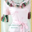 3148ชุดทํางาน เสื้อผ้าคนอ้วนสีชมพูผ้าเครปลายโดดเด่นสะดุดตาแขนทรงระฆัง ระบายรอบเอว สวมใส่สบายหรูหราอลังการเลือกใส่เป็นชุดออกงานเลิศหรู thumbnail 2