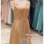 รหัส ชุดราตรี :PF088 ชุดราตรียาว สีทอง ดีเทลเพชรทั้งชุด สวยหรูสง่าดูดีมากๆ จะใส่ไปงานแต่งงาน งานเลี้ยง งานประกวด งานรับรางวัล งานกาล่าดินเนอร์ งานพรอม งานบายเนียร์ หรือเป็นชุดเพื่อนเจ้าสาว สวยหรู ดูดีสุดๆ thumbnail 3