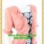 2816ชุดแซกทำงาน เสื้อผ้าคนอ้วนลายไทยคลุมด้วยตัวนอกสีชีฟองชมพูแต่งระบายปกแขนสไตล์หรูเนี๊ยบ มั่นใจ thumbnail 2