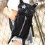 กระเป๋าเป้สีดำปักลายหน้าแมวสุดน่ารัก สะพายเก๋ๆ สไตล์เกาหลี B029 thumbnail 1