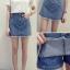 กางเกงกระโปรงยีนส์สั้น งานนี้สวยผ้ายีนส์แท้ S,M,L thumbnail 1