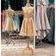 รหัส ชุดราตรี : PFS052 ชุดแซก ชุดราตรีสั้นหรูสีทอง สวย สง่า ดูดีแบบเจ้าหญิง ใส่เป็นชุดงานเช้า ชุดไปงานแต่งงาน งานกาล่าดินเนอร์ งานเลี้ยง งานพรอม งานรับกระบี่ thumbnail 4