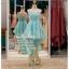 รหัส ชุดราตรีสั้น : PF013-3 ชุดราตรียาว เดรสออกงาน ชุดไปงานแต่งงาน ชุดแซก สีฟ้า หน้าสั้นหลังยาวสวยๆ หมาะสำหรับงานแต่งงาน งานกลางคืน กาล่าดินเนอร์ thumbnail 1