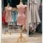 รหัส ชุดราตรีสั้น :PF140 ชุดราตรีสั้นผ้าซาติน เดรสออกงานไหลเฉียง ชุดไปงานแต่งงานสีชมพูกลีบบัว ชุดแซกงานสวยมาก แบบประดับโบว์เพิ่มความน่ารัก thumbnail 2