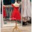 รหัส ชุดราตรีสั้น :BB047 มีชุดราตรีสวย สีแดง ชุดไปงานแต่งสั้น เหมาะใส่งานหมั้น งานเช้า หรู พร้อมส่งเยอะสุดในไทย เนื้อผ้าพรีเมี่ยม คัตติ้งเนี๊ยบๆ ไหล่เดียว thumbnail 2