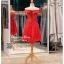 รหัส ชุดราตรีสั้น :BB044 มีชุดราตรีสวย สีแดง ชุดไปงานแต่งสั้น เหมาะใส่งานหมั้น งานเช้า หรู พร้อมส่งเยอะสุดในไทย เนื้อผ้าพรีเมี่ยม คัตติ้งเนี๊ยบๆ thumbnail 2
