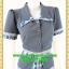 2727เสื้อผ้าคนอ้วน ชุดทำงานแต่งปกแขนเอวลวดลายไทยกระดุมหน้าสไตล์ชุดภูมิฐานเป็นทางการ thumbnail 2