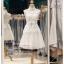 รหัส ชุดราตรีสั้น :BB132 มีชุดราตรีสวย สีขาว สั้น เหมาะใส่งานหมั้น งานเช้า หรู พร้อมส่งเยอะสุดในไทย เนื้อผ้าพรีเมี่ยม คัตติ้งเนี๊ยบๆ thumbnail 2