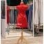 รหัส ชุดกี่เพ้า :KPS056 ชุดกี่เพ้าพร้อมส่ง มีชุดกี่เพ้าคนอ้วน แบบสั้น สีแดง คัตติ้งเป๊ะมาก ใส่ออกงาน ไปงานแต่งงาน ใส่เป็นชุดพิธีกร ชุดเพื่อนเจ้าสาว ชุดถ่ายพรีเวดดิ้ง ชุดยกน้ำชา หรือ ใส่ ชุดกี่เพ้าแต่งงาน สวยมากๆ ค่ะ thumbnail 3