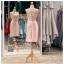 รหัส ชุดราตรี :PFS028 ชุดแซกผ้าลูกไม้งานสวยตกแต่งลูกไม้กริตเตอร์ ชุดราตรีสั้นหรูสีชมพู สวย สง่า ดูดีแบบเจ้าหญิง ใส่เป็นชุดไปงานแต่งงาน งานกาล่าดินเนอร์ งานเลี้ยง งานพรอม งานรับกระบี่ thumbnail 2