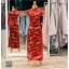 รหัส ชุดกี่เพ้า : KPL046 ชุดกี่เพ้าประยุกต์สำหรับเป็นชุดกี่เพ้าแต่งงานสวยๆ พร้อมส่ง แบบยาว ลายดอกไม้ ใส่เป็นชุดพิธียกน้ำชา ชุดส่งตัวเจ้าสาว ชุดถ่ายพรีเวดดิ้งหรือชุดแต่งงานตามธรรมเนียมจีนโบราณสวยหรู สง่า คุณภาพระดับห้องเสื้อ thumbnail 1
