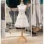 รหัส ชุดราตรีสั้น :BB132 มีชุดราตรีสวย สีขาว สั้น เหมาะใส่งานหมั้น งานเช้า หรู พร้อมส่งเยอะสุดในไทย เนื้อผ้าพรีเมี่ยม คัตติ้งเนี๊ยบๆ thumbnail 1
