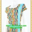 2617ชุดทํางาน เสื้อผ้าคนอ้วนลายเพ้นท์คอกลมแต่งแถบสีข้างเอวสวยหวานเบรคลายด้วยสีเขียวเรียบๆหรูอินเทรนด์ thumbnail 3