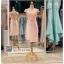 รหัส ชุดราตรี :PFS030 ชุดแซกผ้าลูกไม้ประดับเลื่อม ปาดไหล่สวยเก๋ ชุดราตรีสั้นหรู สีชมพู คาดเข็มขัดโบว์ช่วงเอว สวย สง่า ดูดีแบบเจ้าหญิง ใส่ไปงานแต่งงาน งานกาล่าดินเนอร์ งานเลี้ยง งานพรอม งานรับกระบี่ thumbnail 1