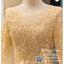 รหัส ชุดราตรี : PFL080 ชุดราตรียาว สีทอง มีแขน ปิดหลัง ชุดราตรีสวยๆ ชุดไทยประยุกต์ ประดับลูกไม้สวยหวานด้านบน ด้านล่างเป็นผ้าไหม ใส่ไปงานแต่งงาน งานเลี้ยง งานรับรางวัล งานกาล่าดินเนอร์ งานพรอม งานบายเนียร์ ชุดพิธีกร ชุดเพื่อนเจ้าสาว ผ้าไหม thumbnail 3