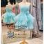 รหัส ชุดราตรี :JE013 เดรสออกงาน ชุดราตรีสั้น ชุดออกงาน ชุดไปงานแต่งงาน สีฟ้า ใส่แล้วรับรองว่าคุณจะสวยโดดเด่น thumbnail 1