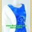 2600ชุดทํางาน เสื้อผ้าคนอ้วนฟ้าลายก้นหอยคอกลมแต่งแขนขาวสีพื้นทรงกิโมโนสไตล์ญี่ปุ่นเรียบหรูสวมใส่สบายผ้าอินโดนำเข้า ผ้าอินโดเนื้อนอก thumbnail 2
