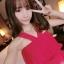 เสื้อเกาะอก ระบายสองชั้น สายเส้นใหญ่สไตล์เกาหลี-4สี-1085 thumbnail 18