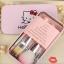 Sweet Pink Hello Kitty Makeup Brush Set ชุดแปรงแต่งหน้า ฮัลโหล คิตตี้ พร้อมกล่อง thumbnail 12