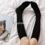 ถุงเท้าญี่ปุ่น แบบยาวต่ำกว่าเข่า สีพื้น มี 7 สี