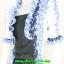 2838เสื้อผ้าคนอ้วน ชุดทำงานดอกฟ้าคลุมลายมีเกาะอกด้านในเย็บติดกัน ระบายคอเลิศหรูสีฟ้าหรูสง่างามสวมใส่ทำงานสไตล์หรูมั่นใจ thumbnail 3
