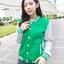 เสื้อคลุมแฟชั่น Classic stlye สวยปนเท่ห์สไตล์เกาหลี รหัส 1662-สีเขียว thumbnail 1