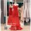 รหัส ชุดราตรี :PF185 ชุดแซกซีทรูตกแต่งลูกไม้ ชุดราตรียาวหรูสีแดงไหล่เฉียงสวยเก๋มากๆ เหมาะสำหรับงานแต่งงาน งานกลางคืน กาล่าดินเนอร์แบบเริ่ดๆ thumbnail 1