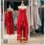 รหัส ชุดราตรี : PF162 ชุดราตรีสั้นเกาะอกตกแต่งกริตเตอร์ สีแดง ชุดไปงานแต่งงานจับจีบช่วงอก เล่นระดับที่กระโปรงสวยเก๋มากๆ เหมาะสำหรับงานแต่งงาน งานกลางคืน กาล่าดินเนอร์แบบเริ่ดๆ thumbnail 1