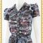 1936ชุดทํางาน เสื้อผ้าคนอ้วนลายวินเทจคละสีปกเชิ๊ตกระดุมหน้าด้วยรูปเรียบง่ายสไตล์สปอร์ตเนื้อผ้าวาเลนติโน่ thumbnail 3