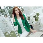 เสื้อสูทผู้หญิงสีเขียว-1723-S