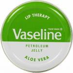 Vaseline Lip Therapy With Aloe Vera สีเขียว