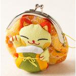 กระเป๋าแมวเนโกะสีเหลือง