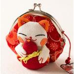 กระเป๋าแมวเนโกะสีส้ม