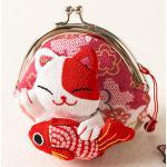 กระเป๋าแมวเนโกะสีแดง