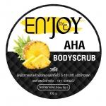 En'JOY by C AHA BODY SCRUB เอ็นจอย สครับสับปะรด ยิ่งใช้ยิ่งขาว ยิ่งขัด ยิ่งใส
