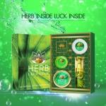 HERB INSIDE LUCK INSIDE เฮิร์บ อินไซด์ ลัค อินไซด์ เซตบำรุงผิว ครีมสมุนไพรหน้าใสอันดับ 1 สวยครบ จบในเซตเดียว