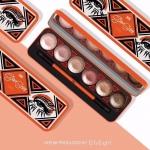 VER.88 GLAM SHINE Cream Eyeshadow Palette เวอร์.88 แกลม ชายน์ ครีม อายแชโดว์ พาเลท อายแชโดว์เนื้อครีม นุ่มลื่น เกลี่ยง่าย