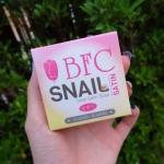 BFC SNAIL SATIN SOAP บีเอฟซี สบู่สเนลซาติน ตบแล้วยืด ล้างแล้วใส