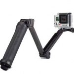3 Way [OEM] ด้ามยาง Monopod Tripod Grip Super Portable Magic Mount Selfie Stick for GoPro Hero4 / 3+ / 3