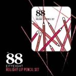 Ver.88 HOLIDAY LIP PENCIL SET เวอร์.88 ฮอลิเดย์ ลิป เพนซิล เซต ลิปสีไม้ ลิปดินสอเนื้อแมท
