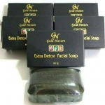 Gold Nature Extra Detox Facial Soap สบู่ดีท็อกซ์นกแอร์ หนุ่มสาวนกแอร์นิยมใช้