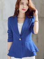 เสื้อสูททำงาน-สีน้ำเงิน