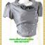 3099เสื้อผ้าคนอ้วน ชุดทำงานคนอ้วนสีเทาปกระบายตั้งไฮโซหรูแต่งกระดุมมุกกระโปรงลายแยกชิ้น6ชิ้นแต่งแถบกุ้นสีเบรคลายอย่างลงตัว thumbnail 2
