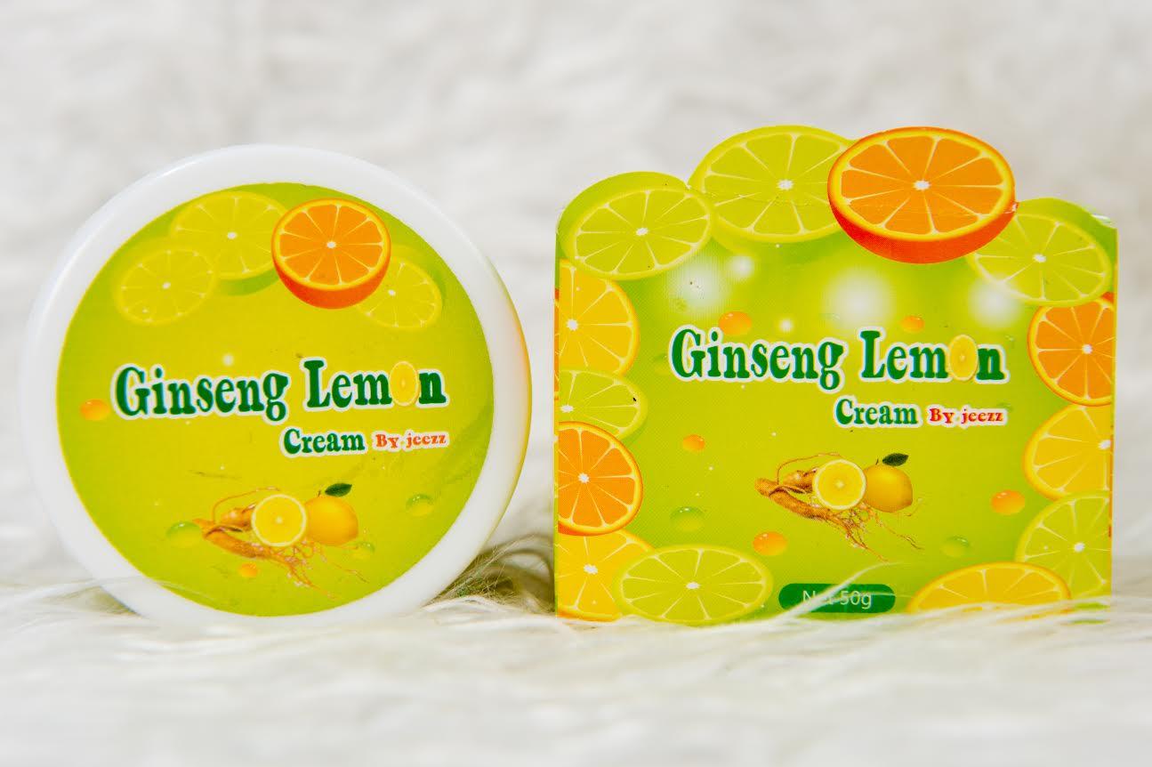 Ginseng Lemon by Jeezz ครีมโสมมะนาว ผิวนุ่ม เรียบลื่น กระชับ