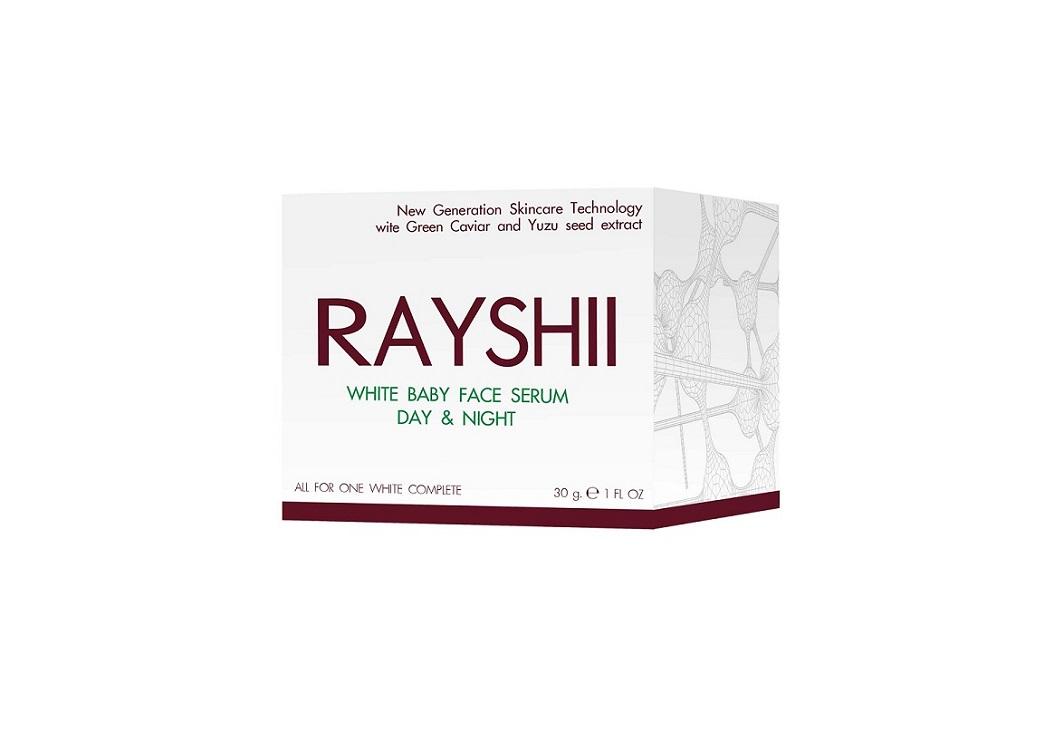 RAYSHI WHITE BABY FACE SERUM DAY & NIGHT เรชิ ไวท์ เบบี้เฟช เซรั่ม เซรั่มหน้าเด็ก ครบทุกขั้นตอนการดูแลผิวที่สมบูรณ์แบบ