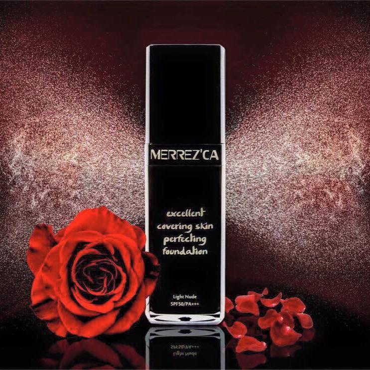Merrez'ca Excellent Covering Skin Perfecting Foundation เม...
